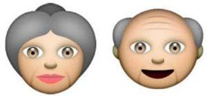 On a oublié de créer des smileys à l'effigie des seniors, Happy-50plus y a remédié