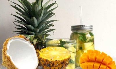 Eau detox - Quatre recettes santé à essayer