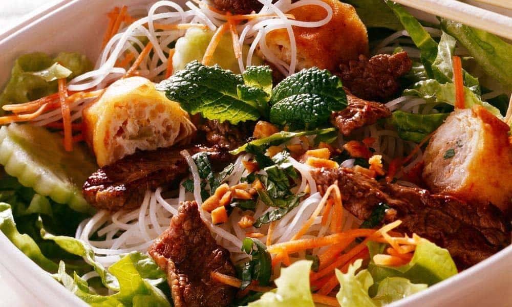 Jour de l'an chinois- Recette de salade Bo Bun pour fêter ça