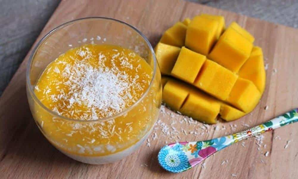 Dessert - Recette de pannacotta au lait de coco