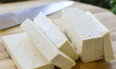Recette de carpaccio de tofu aux courgettes