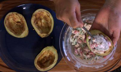 Recette - Aubergines farcies de Maheata