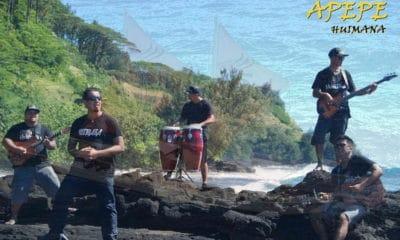 Teiva LC chante 'Āpepe, une chanson qui parle des pirogues ancestrales