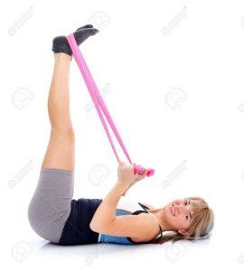 Isabelle Balland nous montre quelques exercices d'étirements pour soulager votre sciatique