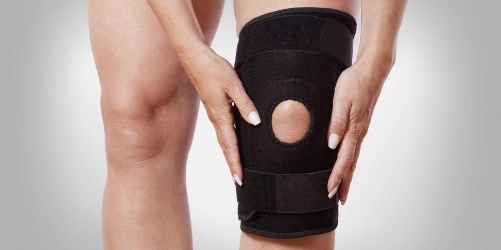 Isabelle Balland nous montre quelques exercices pour soulager une entorse du genou.