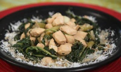 Tea nous délivre sa recette de poulet fafa au lait de coco