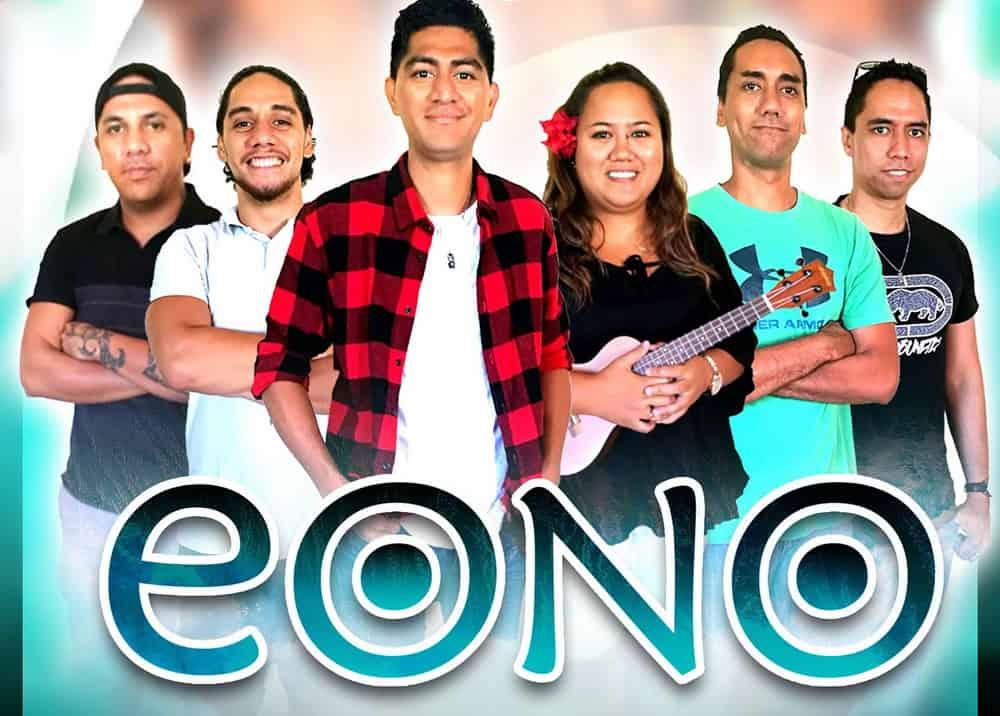 Eono inteprète Torea, une chanson du groupe Te Kakano