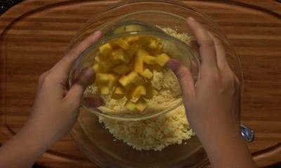 La recette de taboulé mabgue et poivron de Maheata