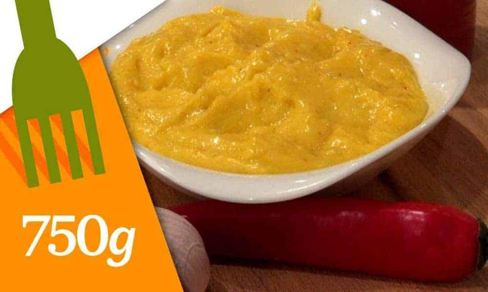 Cette recette de l'aïoli est délicieuse et facile à faire pour un senior