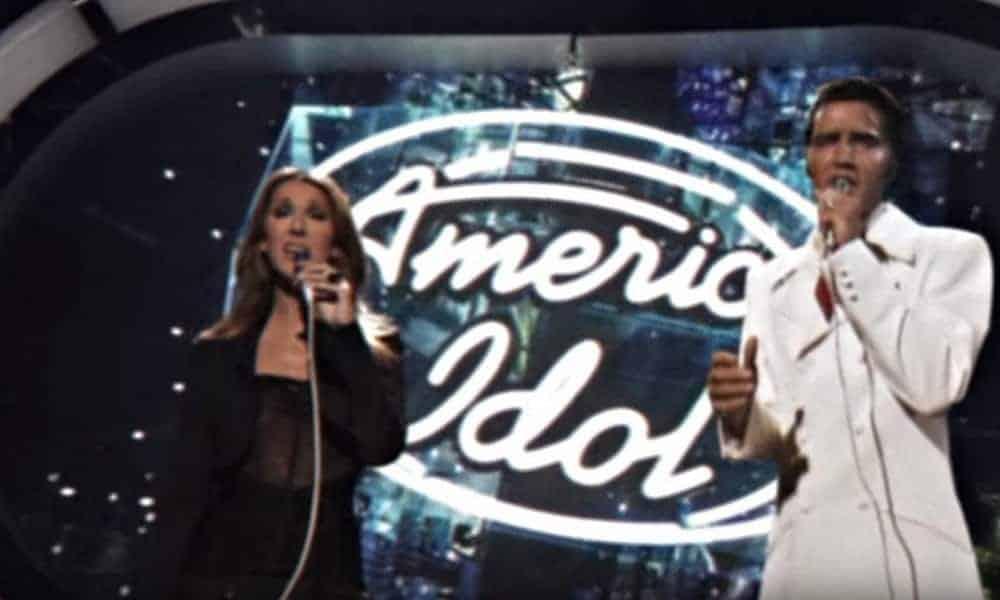Les seniors apprécieront cette reprise de Céline Dion qui chante en duo virtuel avec Elvis Presley