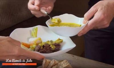Les seniors vont apprécier cette recette de pot-au-feu de joues de bœuf