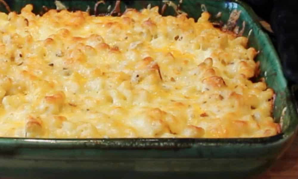Un Mac N Cheese sinon rien. Un plat embématique des USA