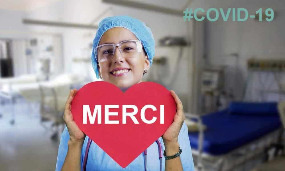 Tous les happy quinquas et seniors se joignent à moi pour dire merci aux soignants qui soignent les malades du coronavirus.