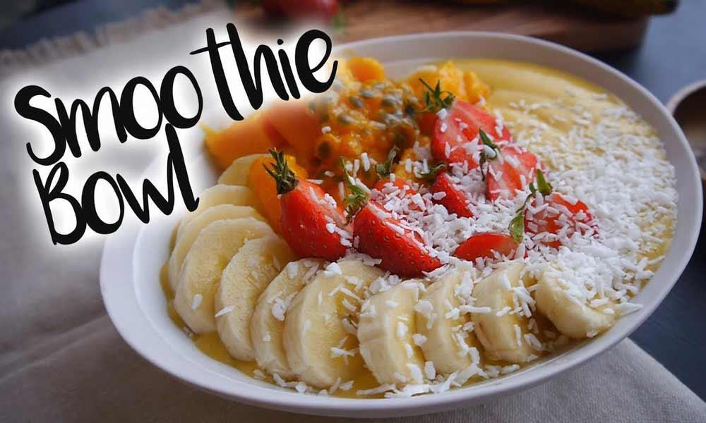 Vous n'avez encore jamais préparé de smoothie bowl ? Voici une recette facile à faire que les quinquagénaires et seniors vont apprécier.