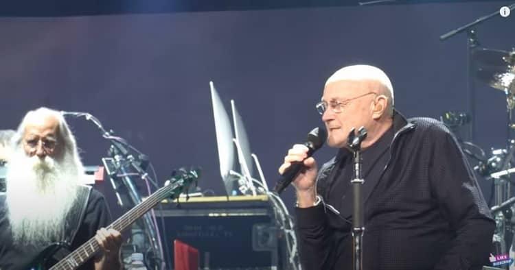 """Tous les quinquas et seniors ont connu Phil Collins dans leur jeunesse. Il interprète """"Another day in paradise""""."""