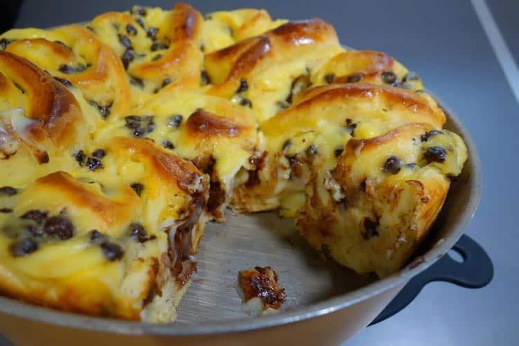 Originaire d'Alsace, le « Schneckenkuchen » est une spécialité briochée à la crème pâtissière. Une délicieuse gourmandise facile à faire.