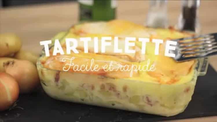 Accessible à tous, cette recette de tartiflette aux saveurs savoyardes est simple et rapide à cuisiner. Un plat à partager en famille.