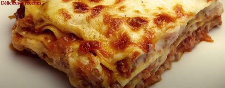 Un plat de lasagnes à la bolognaise, c'est toujours réconfortant et bien apprécié des familles françaises. Miam Miam
